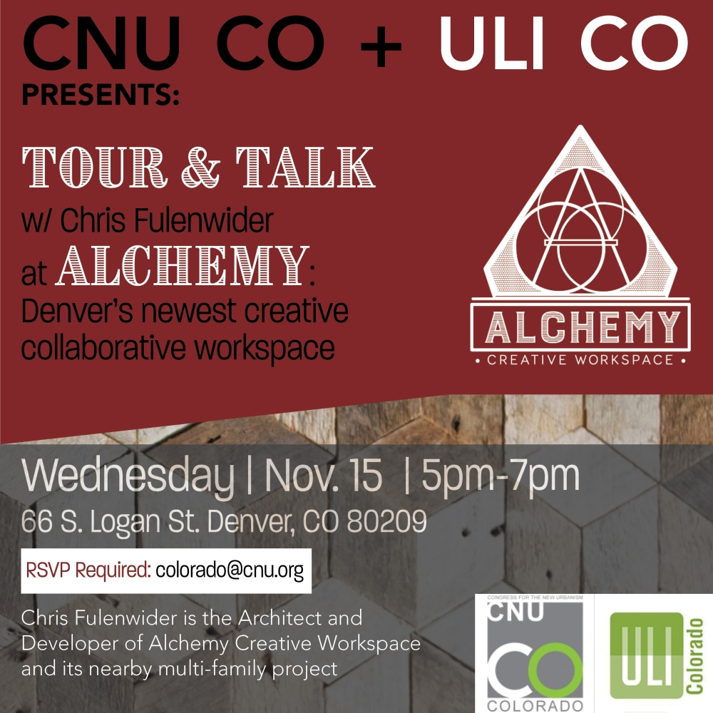 Alchemy Tour with ULI